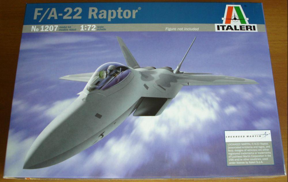 Aereo Da Caccia F 22 Raptor : Model center modellismo statico e dinamico italeri